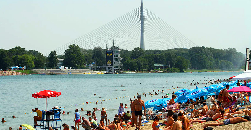 The Swimming Area Ada Ciganliјa