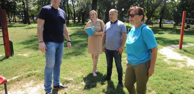Кошаркашки савез и УНИЦЕФ у радној посети игралишту на Ади Циганлији
